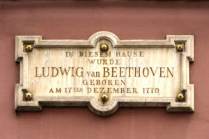 Gedenktafel am Beethoven-Haus